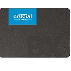 Crucial BX500 CT240BX500SSD1(Z) 240 GB Internal SSD (3D NAND, SATA, 2.5-Inch) for £24.98 Delivered @ Amazon UK