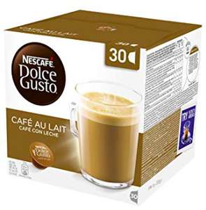 Dolce Gusto Cafe au Lait Pods - 30 PACK £3.50 @ Amazon Pantry