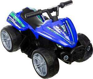Roadsterz Volt 6V Electric Ride On Quad Rechargeable Battery 4 Wheels Kids @ Ebay Sold By Halfords Free C&C £29