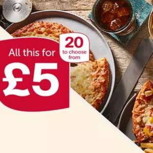 3 x Iceland Pizzas 320g to 365g +  Chips 600g to 750g + Pepsi Max 3 Litres = £5 @ Iceland