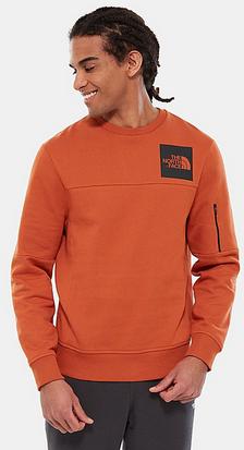 MEN'S FINE Z POCKET FLEECE (Bombay Orange) - Free (Inc Delivery) @ The North Face Shop