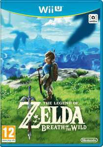 Legend of Zelda: Breath of the Wild Wii U Game - £29.99 @ Argos