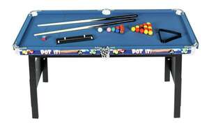 Chad Valley 4ft Snooker/Pool Game Table now £32.49 free click and collect at Argos