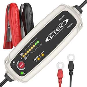 CTEK MXS 5.0 Fully Automatic Battery Charger (For Car and Motorcycle Batteries) 12V, 5 Amp - UK Plug - £58.01 @ Amazon