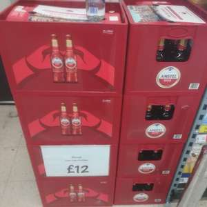 24 X 300ml bottles of Amstel with free crate £12 @ Asda.