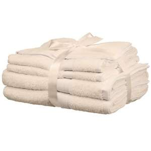 4 Piece Towel Bale in Stone or Dark Teal £3 from John Lewis & Partners (+£3 p&p / £2 c&c)