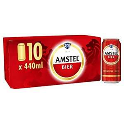 Amstel Beer 3 x 10 (440ml) - £21 @ Asda