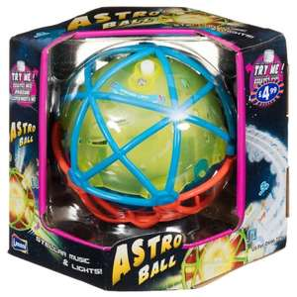 Lanard Self - Bouncing Lights & Sounds Astro Ball, Now £1 @ B&M