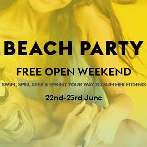 Village hotels open weekend 22-23 June use all facilities for free, free classes + 50% off treatments on future datea but booked then