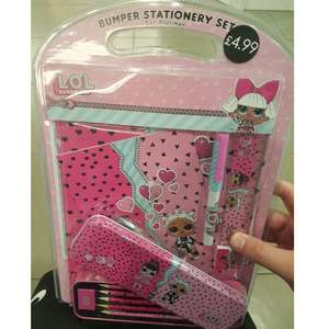 LOL Bumper stationery set scanning as £1 card factory nationwide