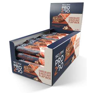SCI-MX Nutrition PRO 2GO Flapjack Protein Bar Box, Yogurt and Honey, 24 x 80g £14.99 at Sci-Mix