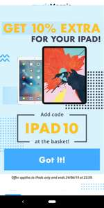 Sell your iPad for more than just peanuts... get 10% EXTRA for your iPad @ Music Magpie with code