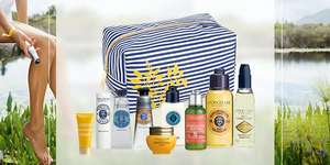 Free Beauty Bag when you Spend £100 with Code @ L'Occitane