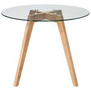 Round Glass Coffee Table - was £45 now £16.50! @ Asda direct