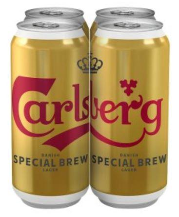 Carlsberg special brew 4x440ml - £7.60 @ Waitrose