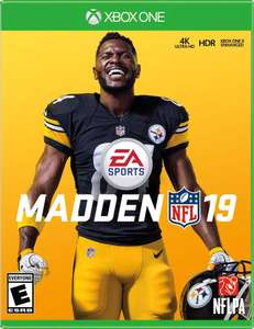 Madden NFL 19 Xbox One £9.00 Download Code from Amazon UK