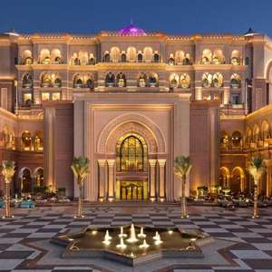 2 Adults for 7 Nights at Emirates Palace, Abu Dhabi - June 6th 2020 - £1,963 Total @ Destination2.