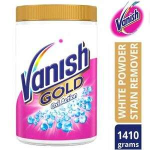 Vanish Gold Powder Fabric Stain Remover For Whites 1410g With Oxi Action - £11.49 at official_brand_outlet eBay