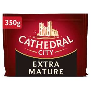 (From 24th June) 1.4kg (4 x 350g) Cathedral City Extra Mature Cheddar £6 @ Costco