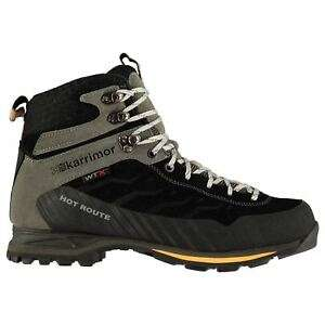 Karrimor Mens Hot Route Mid Walking Boots Lace Up Breathable Waterproof Leather - £49.49 at arcade-london eBay
