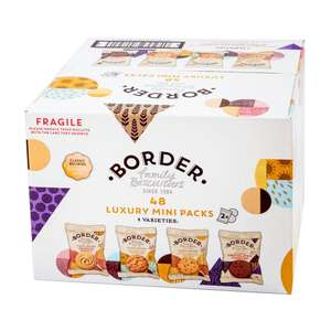 Border Biscuits Luxury Mini Packs x 48 for £5.49 @ Costco (from 24/06)
