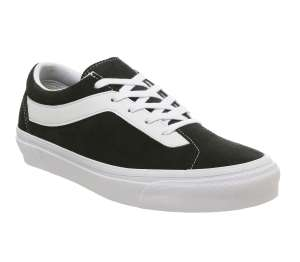 VansBold Ni Trainers Black True White - £25 at Office Shoes (Free C&C)