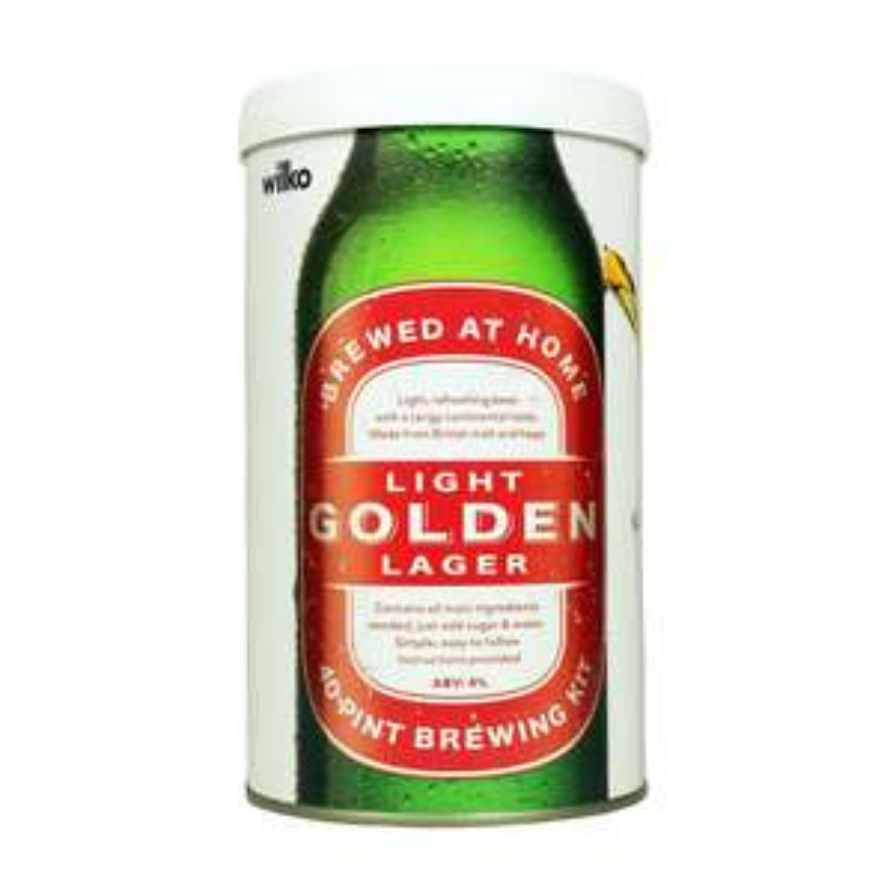 Light Golden Lager Brewing Kit 1.5 £10 @ Wilko