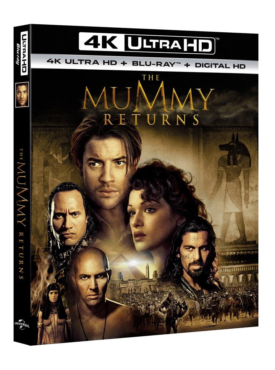 The Mummy Returns (4K Ultra HD + Blu-ray + Digital Download) [UHD]  £8.99 with code @ Zoom