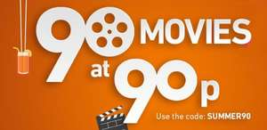 90 movie rentals at 90p promotion e.g. Lego Movie 2 HD+ Rental 90p @ CHILI with code