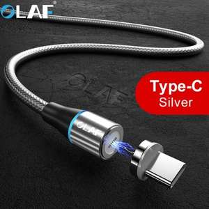 OLAF 3A USB Type C Magnetic Fast Charging Cable £2.08 Delivered at Gearbest