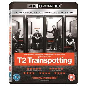 T2 Trainspotting 4K Ultra HD Blu-ray now £10.49 delivered at 365 Games