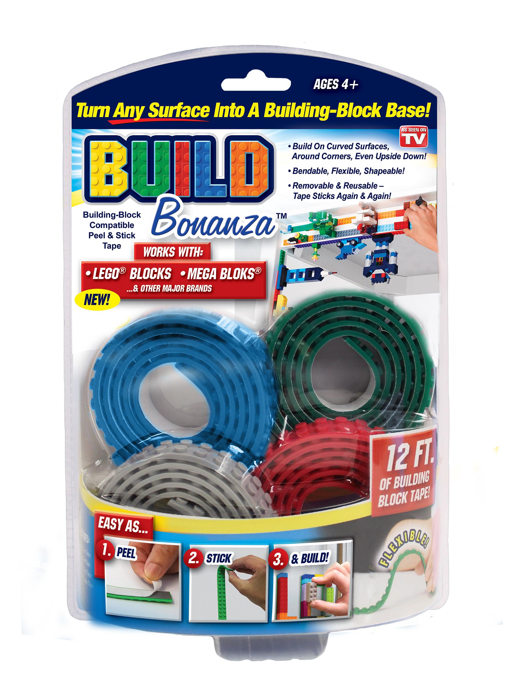 Build Bonanza Tape Set Lego Mega Block Kreo - 99p instore @ HomeBargains
