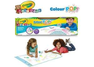 Crayola Pop Colour and Erase Mat £9.99 Delivered using code @ BargainMax