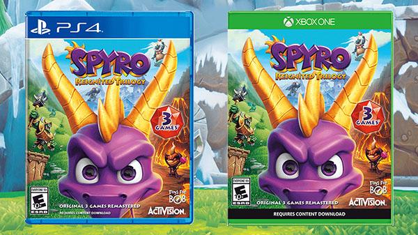 Spyro Reignited Trilogy ( PS4 / Xbox One) for £15 @ Sainsburys
