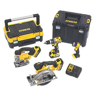 DeWalt DCK457M3T-GB 18V 4.0Ah Li-Ion XR  Cordless 4-Piece Power Tool Kit £399.99 @ Screwfix