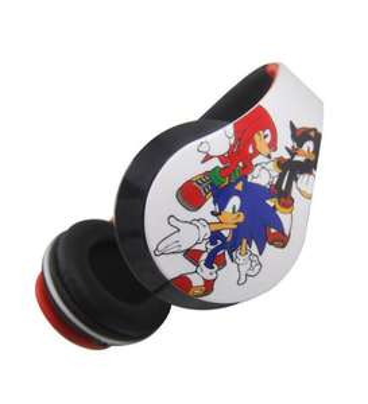 Official Sonic the Hedgehog Folding Headphones (2 Designs) - £5.60 - Sega Shop