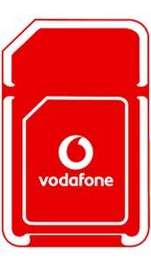 Vodafone Sim Only - Unltd Minutes and Texts 100GB Data £24pm