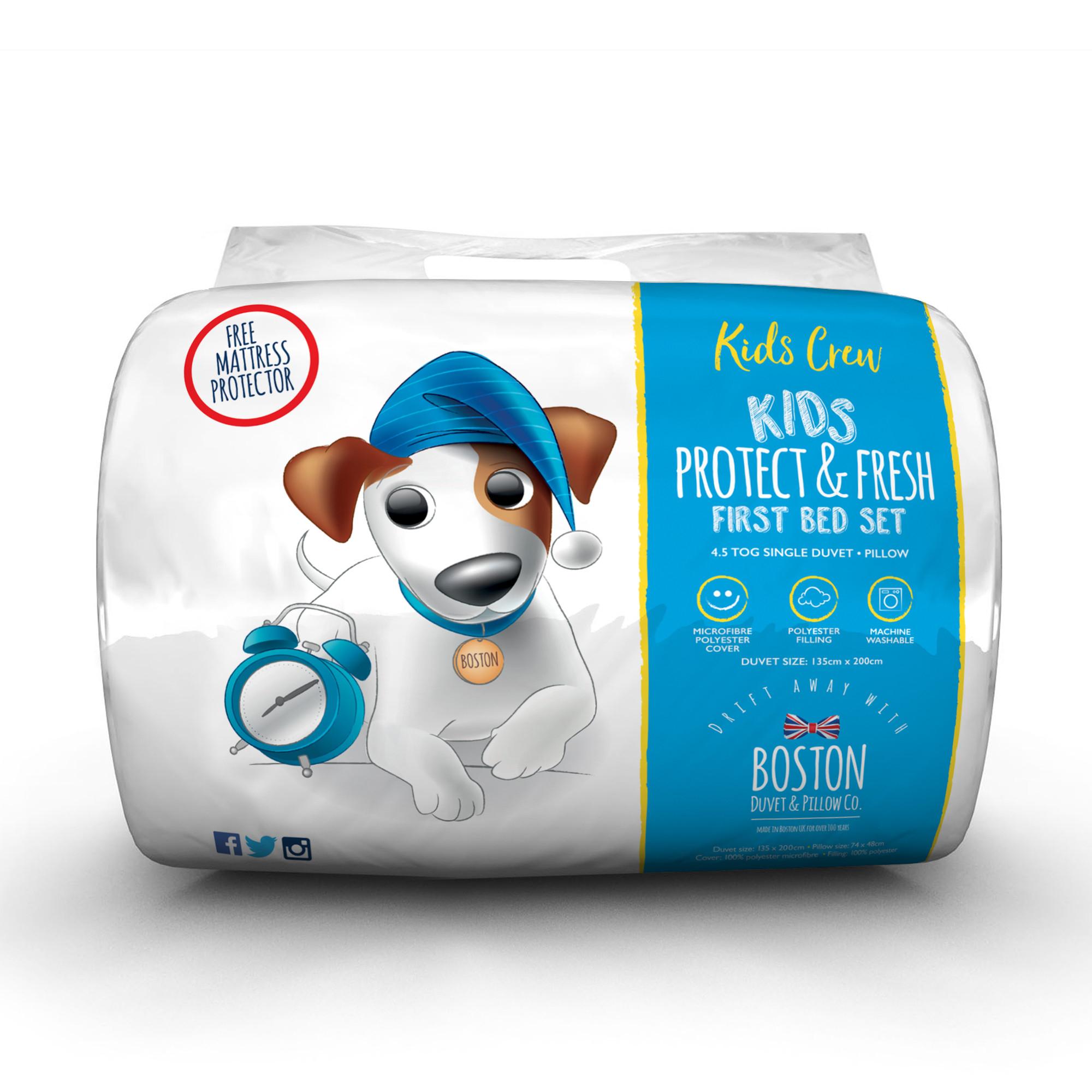Boston Duvet & Pillow Co.Kids Crew Kids Hollow fibre Bed Set @ SleepSeeker £9.99 Delivered
