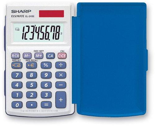 Sharp EL-243E Pocket Calculator £3.99 (Add on Item ) @ Amazon