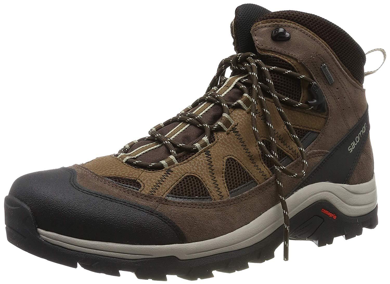7303bd45bda322 Men's From Gtx Running Salomon Trail £57 Now Authentic Shoes Ltr FulKJc53T1