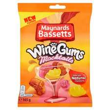 Maynards Bassets Wine Gum Mocktails 165G - 49p @ Home Bargains