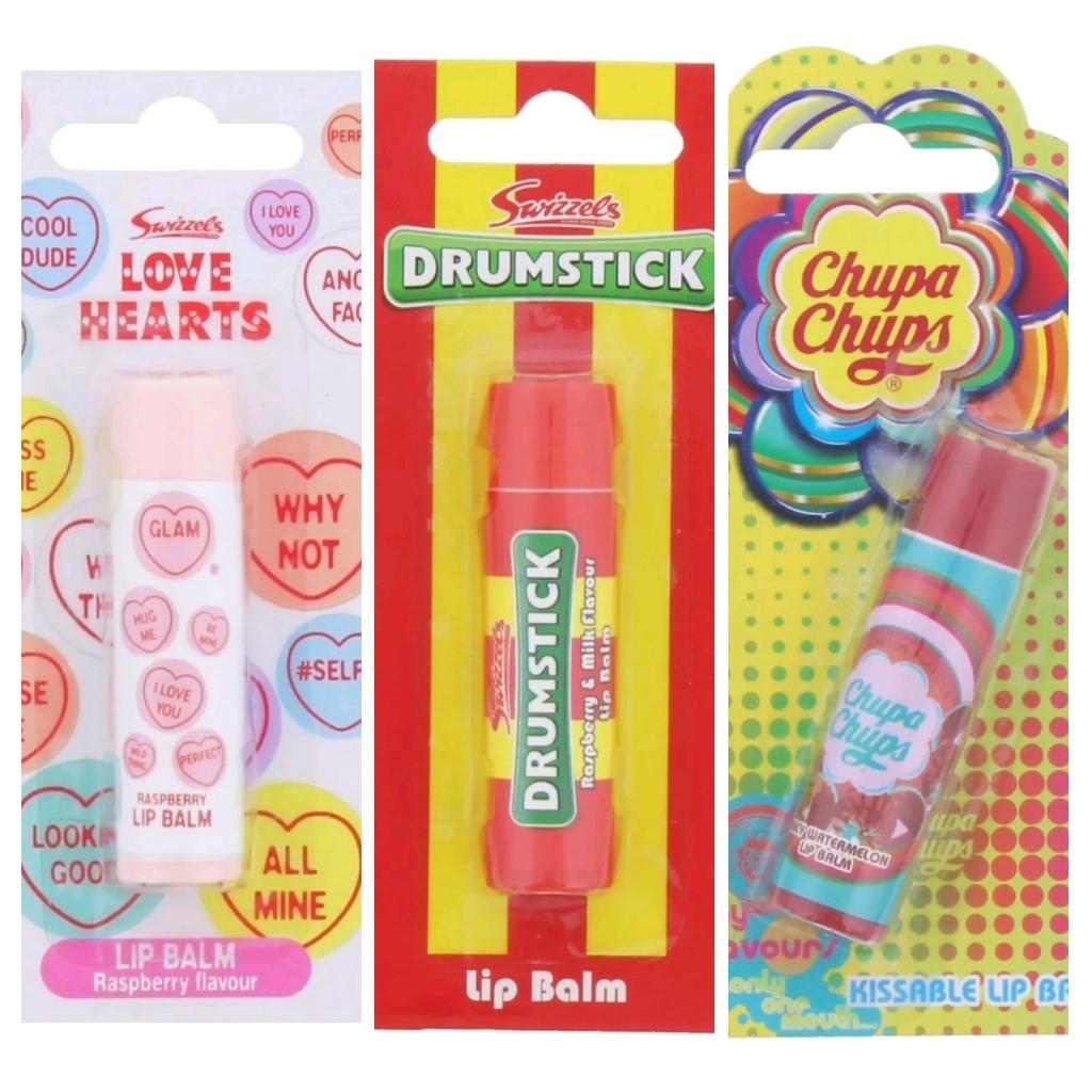 Chupa Chups/Love Hearts/Drumstick Lip balm 69p @ Home Bargains