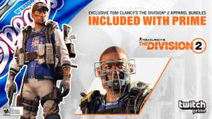 Tom Clancy's The Division 2 - Free in-game loot (exclusive apparel bundle & Mask) for Twitch Prime Members