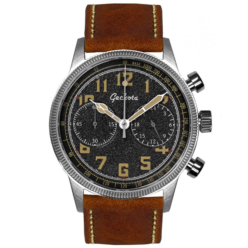 Geckota C-02 SII VK64 Meca-Quartz (Aviation Or Military Watch Styles), 39mm, 316L S/S, Sapphire AR Coating, 100M WR, £89.10 @ WatchGecko