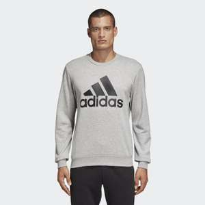Adidas Must Haves Badge of Sport Crew Sweatshirt rrp £42.95 now £17.17 + £3.99 delivery (Size XS to XXL) @ Adidas