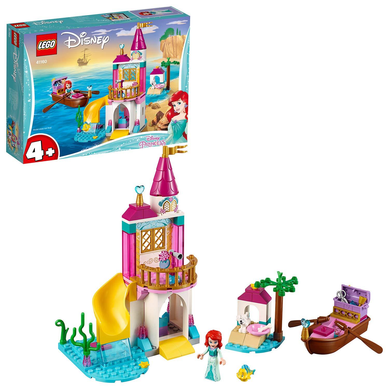 LEGO 41160 Disney Princess Ariel's Seaside Castle Set with Mini Doll and Boat Toy - £12 at Amazon Prime / £16.49 Non Prime