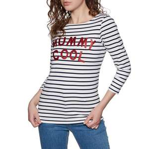 Joules Womens Harbour Printed Jersey Top Shirt MummyCool £9.95 @ Joules Outlet eBay