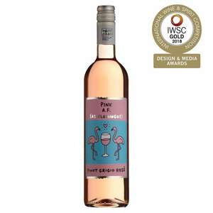 Pink As Flamingos Pinot Grigio Rose 75cl - £6 at Morrisons