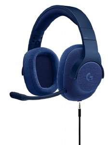 Logitech Blue/Red G433 +  Free Logitech Headset Stand £45.48 delivered @ Ebuyer - works with Xbox One / PS4 / Switch / PC