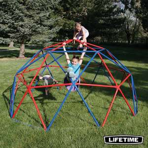 Lifetime Geometric Dome Climber in Red/Blue - £134.99 - Costco